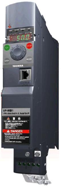 Falownik Toshiba VFMB1S-2007 1x 230V 0,7kW