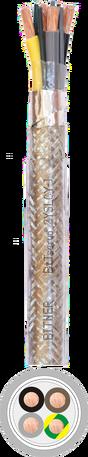 Kabel ekranowany 2YSLCY-J 4x1,5mm2